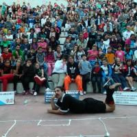 """""""De penalti"""" en las Fiestas del Pilar de Zaragoza."""