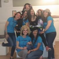 Taller de Risoterapia con las amigas de Ana!!!!