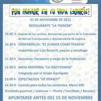 """¡¡¡Jornadas en Segovia """"Pon humor en tu vida""""!!!!"""