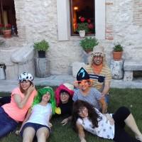 Taller de Risoterapia en Escarabajosa de Cuellar, Segovia !!!!